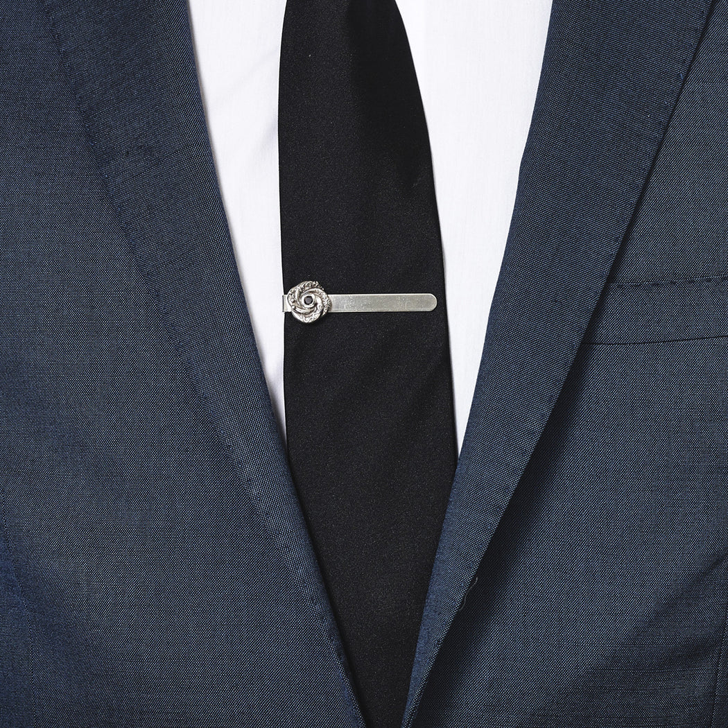 Black Diamond Loveknot Tie Slide