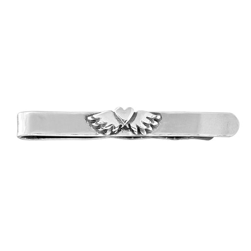 Classic Winged Heart Tie Slide