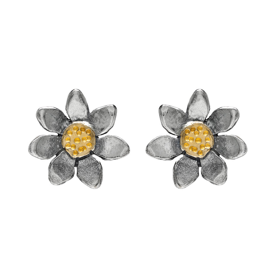Classic Flower Stud Earrings