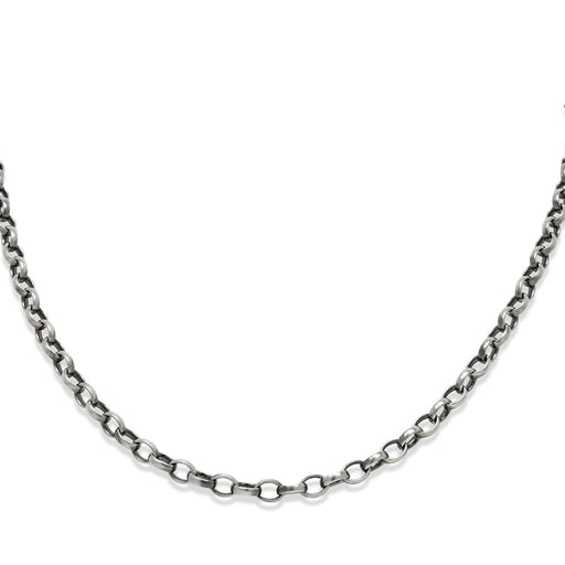 Medium Oval Belcher Chain Necklace