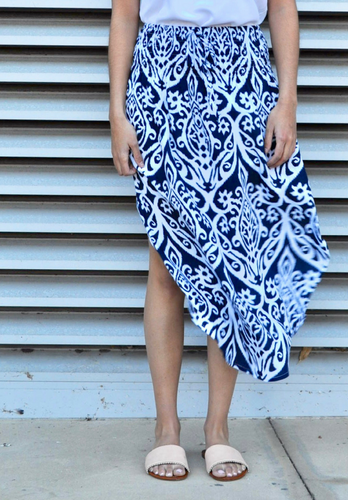 Head in the Clouds Maxi Kaftan - My Bargains Boutique