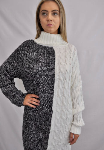 Jorja Contrast Knit - My Bargains Boutique