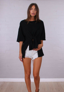 Stevie Tee - Black - My Bargains Boutique