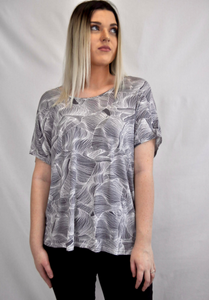 Exclusive Print Top - My Bargains Boutique