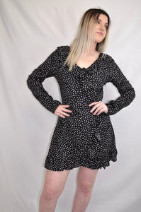 Melany Flutter Mini Dress - My Bargains Boutique