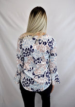 Leopard Lux Cross Over Top - My Bargains Boutique