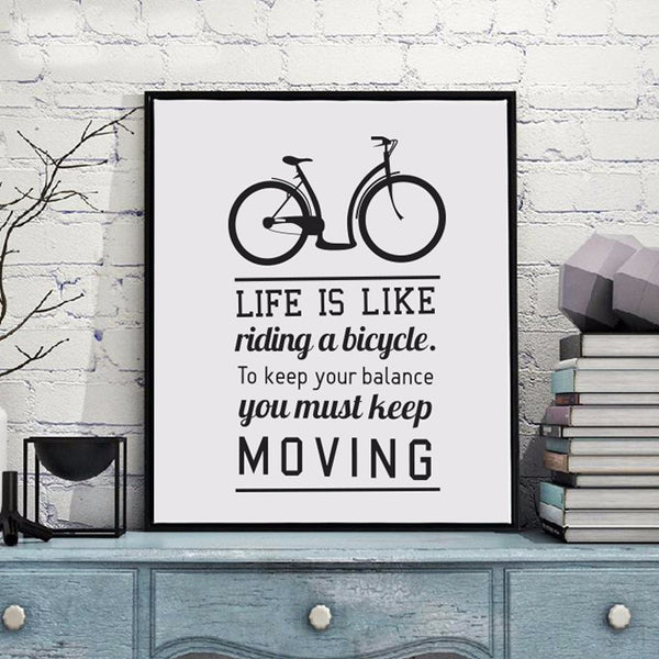 Life and Progression Motivational Typography