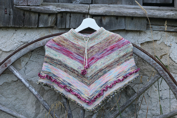 Ballet Paintbox Poncho download pattern