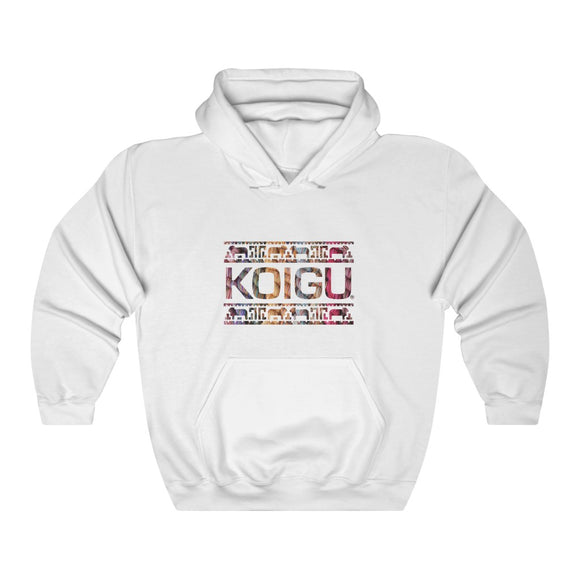 Koigu Pencil Box Logo Hooded Sweatshirt