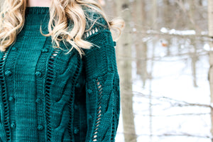 Evergreen by Melissa Leapman pattern PDF