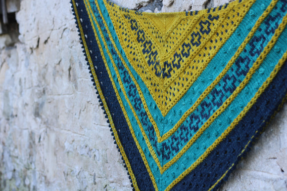 Golden Hour Shawl Yarn Pack