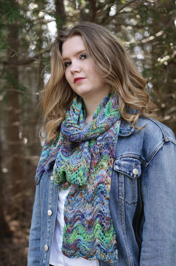 Ariel - The Little Mermaid Scarf download pattern