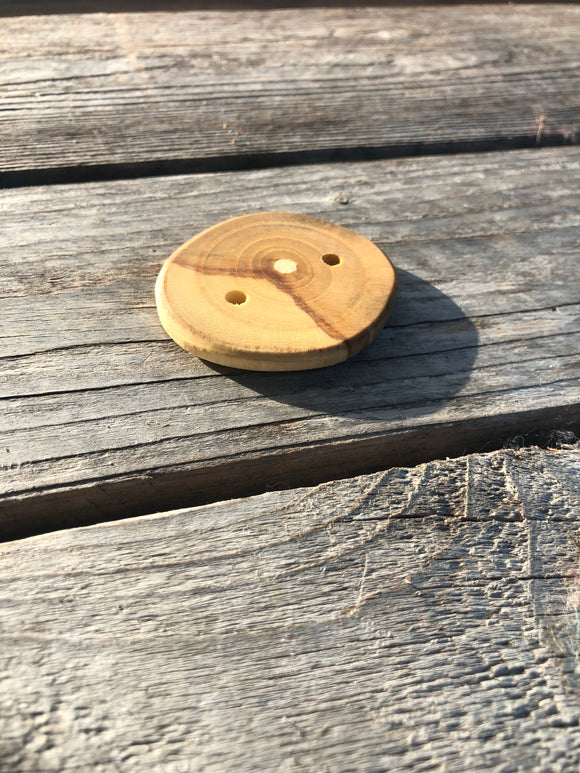 Large Ash Buttons, Single Button