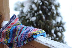 Kaleidoscope Fair Isle Cowl kit