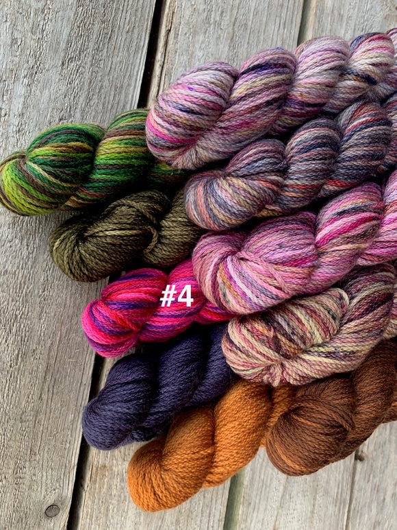 Kersti 10 skein Inspiration Pack (4 variants)