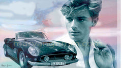 Collectible Ferrari owned by Alain Delon in the 60's - Ref: AD521