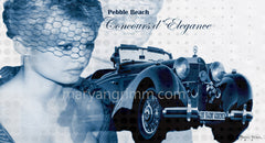 Collectible Mercedes Benz in Pebble Beach Concours d'Elegance - Ref: BB529