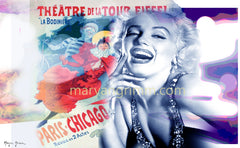 Marilyn Monroe - Art Deco Poster - Ref: MM536