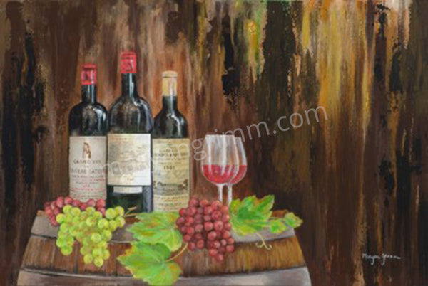 3 bottles of wine - Ref: 133