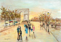 Champs-Elysees - Paris, France - Ref: 1969