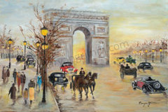 Champs-Elysees, Paris, France - Ref:  1930