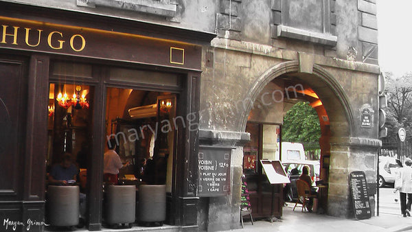 Cafe Hugo, Paris, France - Ref: 807