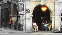 Cafe-Restaurant, Paris, France - Ref: 809