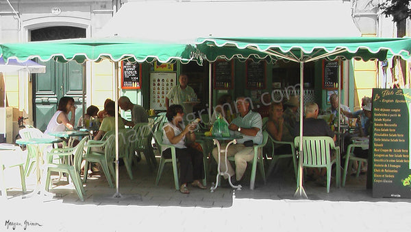Cafe in Aix-en-Provence, France - Ref: 811
