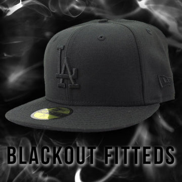 New Era Blackout 59Fifty Fitted