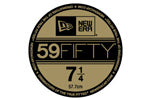 59Fifty Sticker