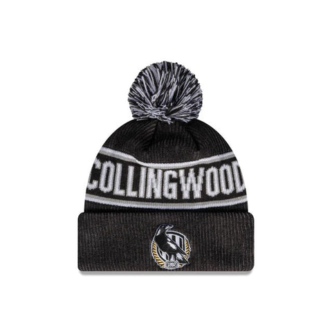 Collingwood Magpies Pom Beanie