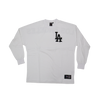 Majestic Rando Long sleeve Tee Los Angeles Dodgers White