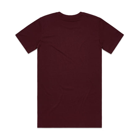AS Colour Tall Tee Burgundy