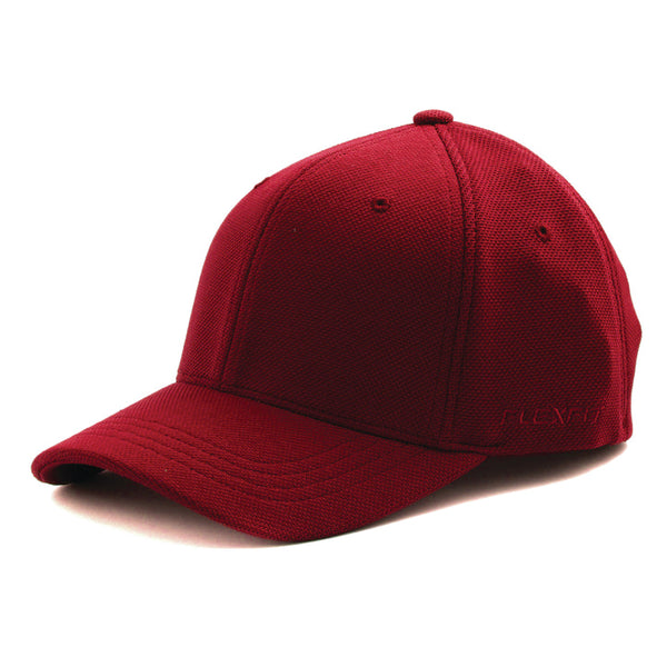 Flexfit Cool and Dry Pique Mesh 110 Snapback Red