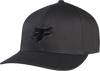 Fox Legacy Flexfit Hat Black/Black