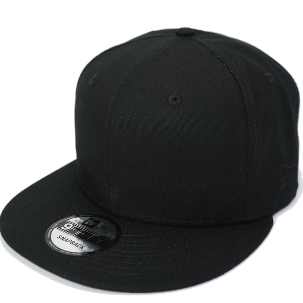 New Era 9Fifty Blank Basic Black