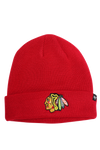 47 Raised Cuff Knit Chicago Blackhawks Red Raised
