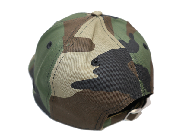 New Era 9Forty Clothstrap Blank Woodland Camo