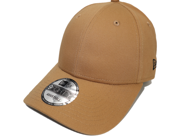 New Era 9Forty Clothstrap Blank Wheat