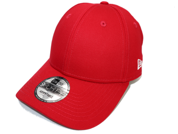 New Era 9Forty Clothstrap Blank Scarlet