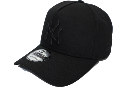 New Era 9Forty A-Frame New York Yankees Black on Black