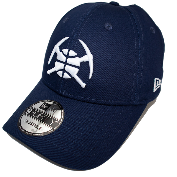 New Era 9Forty Pop Denver Nuggets Dark Royal