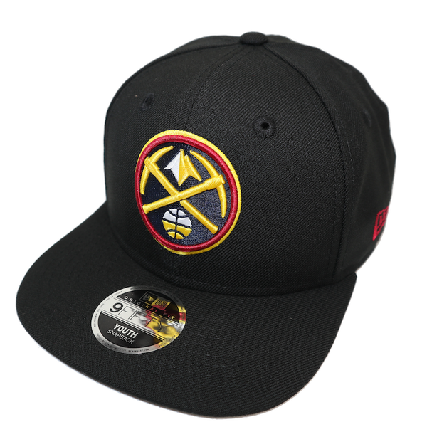 New Era Youth 9Fifty Denver Nuggets Black Team