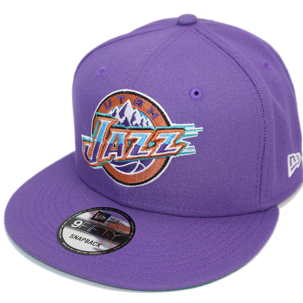 New Era 9Fifty Hardwood Classic Nights Utah Jazz Team