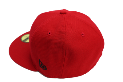 New Era 59Fifty Blank Fitted Scarlet