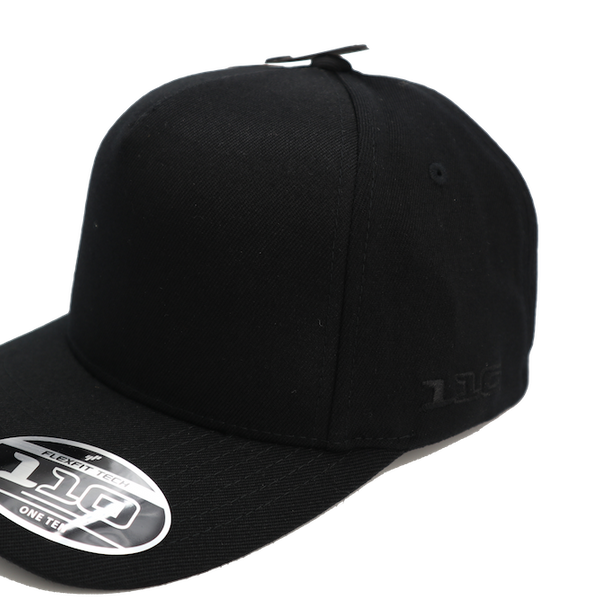 Flexfit 110 Mirage Snapback Black