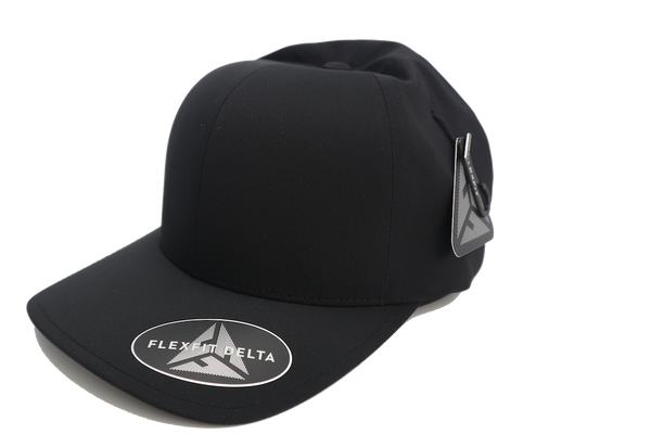 Flexfit Delta Fitted Black