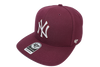 47 Brand Shush Suede Mvp Dp sb New York Yankees Maroon