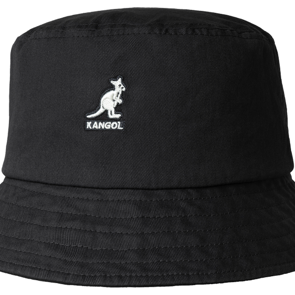 Kangol Washed Bucket Black