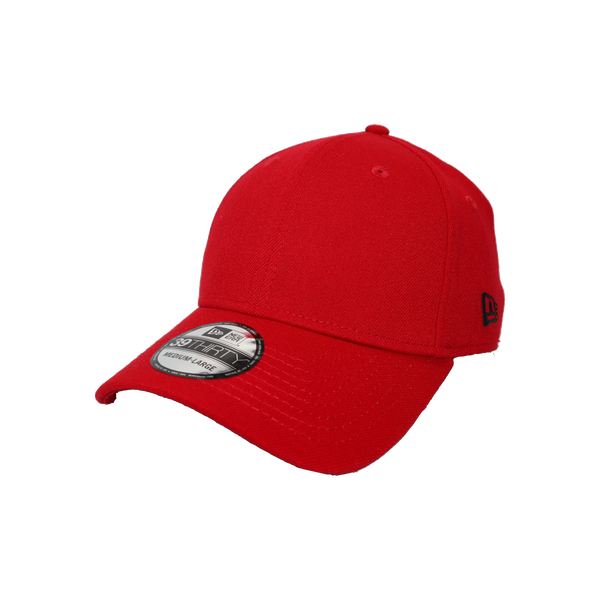 New Era 39Thirty Fitted Blank Scarlet
